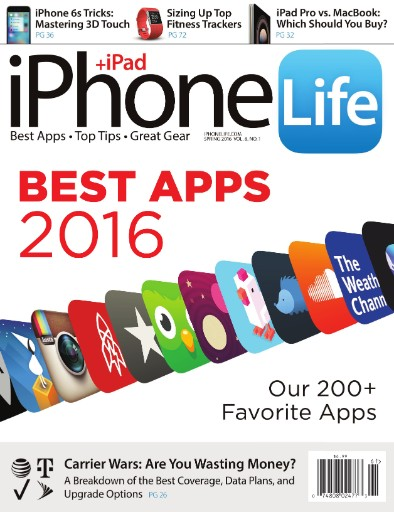 Read the latest issue of iPhone Life