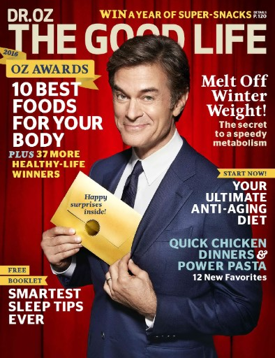 Read the latest issue of Dr. Oz: The Good Life