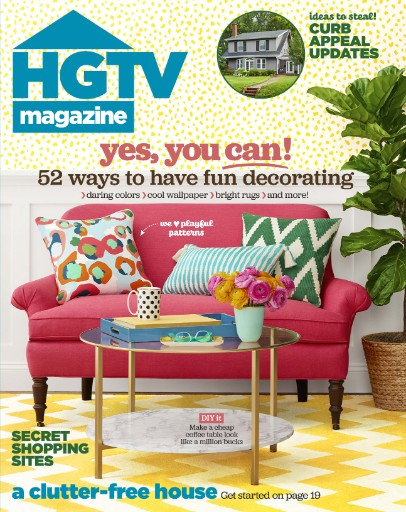 Read the latest issue of HGTV Magazine