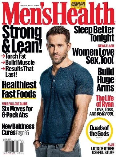 Read the latest issue of Men's Health