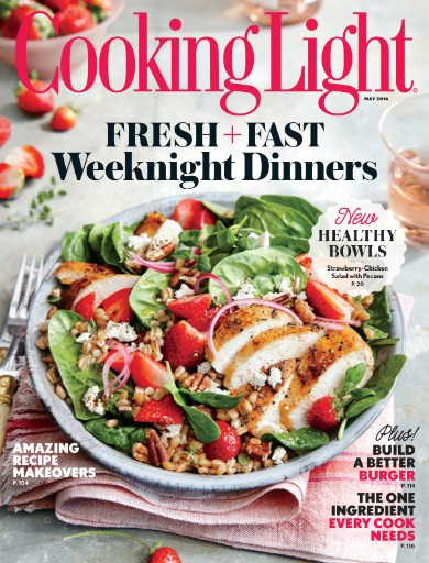 Read the latest issue of Cooking Light