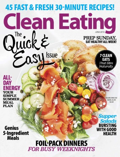 Read the latest issue of Cleaning Eating