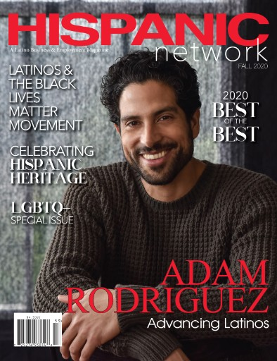 Hispanic Network Magazine cover