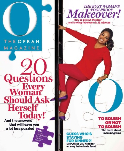 Read the latest issue of O, The Oprah Magazine