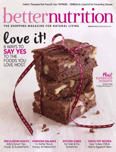 Read the latest issue of Better Nutrition