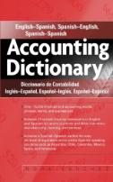 cover of Accounting dictionary. English-Spanish, Spanish-English, Spanish-Spanish = Diccionario de contabilidad. Ingles-Espanol, Espanol-Ingles, Espanol-Espanol