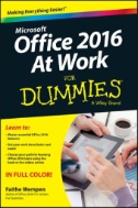 Microsoft Office 2016 at Work for Dummies. Access with TAFE username and password.