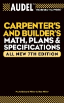 Carpenter's and Builder's Math, Plans, Specifications