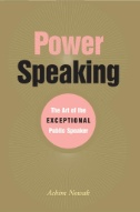 Book cover Power Speaking
