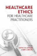book cover of Healthcare Ethics for Healthcare Practitioners - click to open book in a new windoww