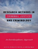 Research Methods in Criminal Justice and Criminology: An Interdisciplinary Approach Image