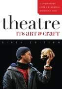 "Picture of the book cover for ""Theater: It's Art and craft"""