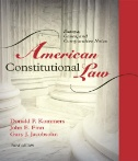 American Constitutional Law Volume 1 Image