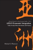 ASEAN Economic Integration : Trade, Foreign Direct Investment, and Finance