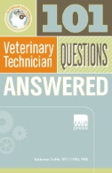 Book cover of 101 Veterinary Technician Questions Answered - click to open in a new indow