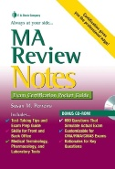 MA Review Notes: Exam Certification Pocket Guide Image