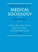 Handbook of Medical Sociology Image
