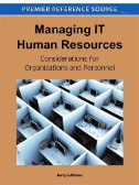 Managing IT Human Resources : Considerations for Organizations and Personnel Image
