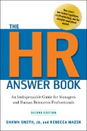 The HR Answer Book: An Indispensable Guide for Managers and Human Resources Professionals Image