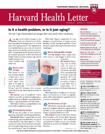 Harvard Health Letter Magazine Subscriptions