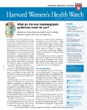 Harvard Women's Health Watch Magazine Subscriptions