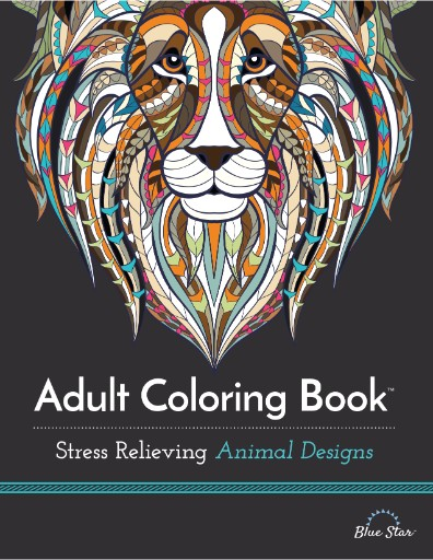 Adult Coloring Book: Stress Relieving Animal Designs Magazine Subscriptions