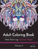 Adult Coloring Book: Stress Relieving Animal Designs Volume 2 Magazine Subscriptions