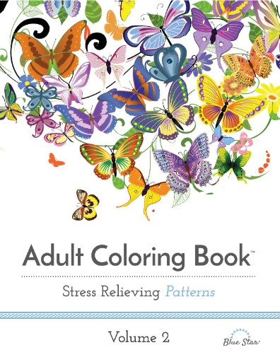 Adult Coloring Book: Stress Relieving Patterns Volume 2 Magazine Subscriptions