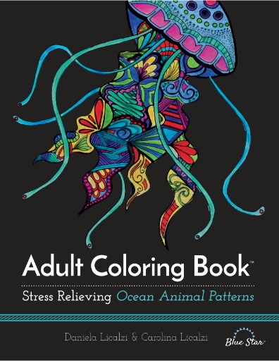 Adult Coloring Book: Stress Relieving Ocean Animal Patterns Magazine Subscriptions