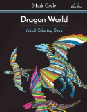 Adult Coloring Book: Dragon World Magazine Subscriptions
