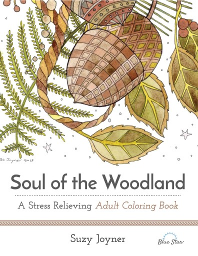 Soul of the Woodland: A Stress Relieving Adult Coloring Book Magazine Subscriptions