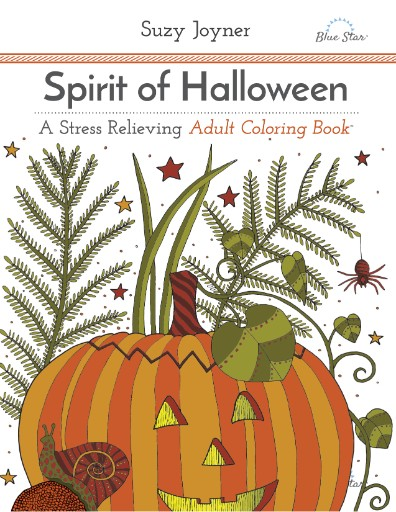 Spirit of Halloween: A Stress Relieving Adult Coloring Book Magazine Subscriptions