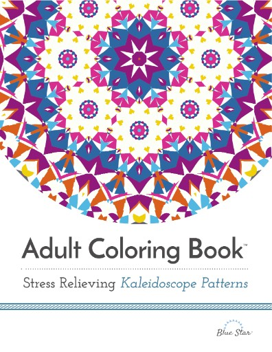 Adult Coloring Book: Stress Relieving Kaleidoscope Patterns Magazine Subscriptions