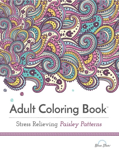 Adult Coloring Book: Stress Relieving Paisley Patterns Magazine Subscriptions
