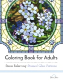 Coloring Book for Adults: Stress Relieving Stained Glass Magazine Subscriptions