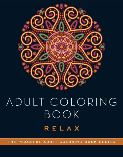 Adult Coloring Book: Relax Magazine Subscriptions