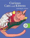 Curious Cats & Kittens. Coloring for Artists Magazine Subscriptions