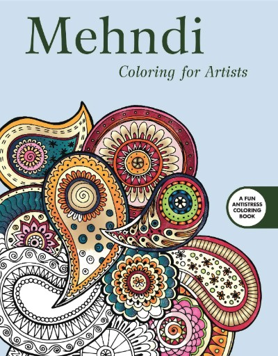 Mendhi: Coloring for Artists Magazine Subscriptions