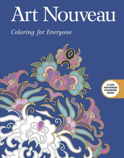 Art Nouveau: Coloring for Everyone Magazine Subscriptions