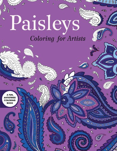 Paisleys: Coloring for Artists Magazine Subscriptions