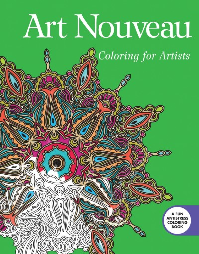 Art Nouveau: Coloring for Artists Magazine Subscriptions