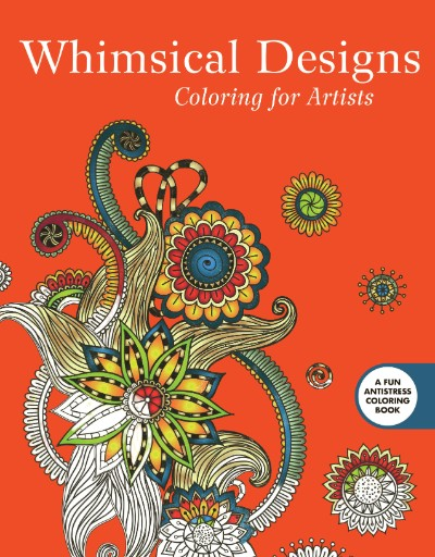 Whimsical Designs: Coloring for Artists Magazine Subscriptions