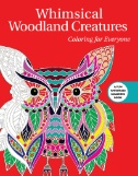 Whimsical Woodland Creatures Coloring for Everyone Magazine Subscriptions