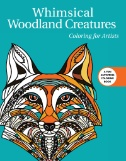 Whimsical Woodland Creatures Coloring for Artists Magazine Subscriptions