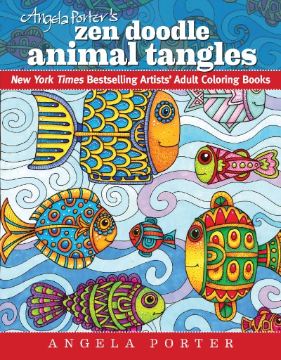 Angela Porter's Zen Doodle Animal Tangles Magazine Subscriptions