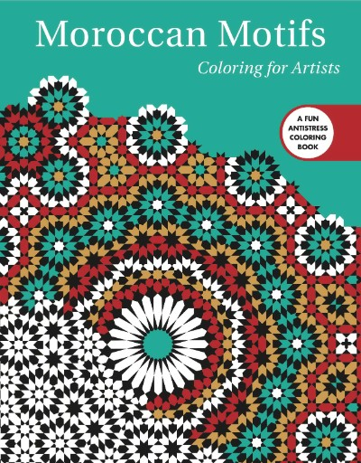 Moroccan Motifs: Coloring for Artists Magazine Subscriptions