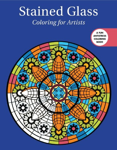 Stained Glass: Coloring for Artists Magazine Subscriptions