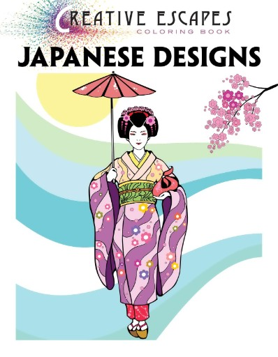 Creative Escapes Coloring Book - Japanese Designs Magazine Subscriptions