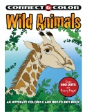 Wild Animals Color & Connect Dot-to-Dot Magazine Subscriptions