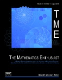The Mathematics Enthusiast Magazine Subscriptions